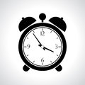 Vector alarmclock icon alarm clock illustration Stock Image