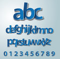 Vector alphabet set Royalty Free Stock Photo