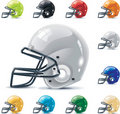 Vector American football / gridiron icon set. Part