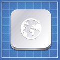 Vector app icon template Royalty Free Stock Photos
