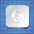Vector app icon template Royalty Free Stock Photos