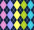 Vector argyle pattern Stock Image