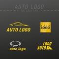 Vector auto logo design.