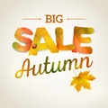 Vector Autumn sale vector background