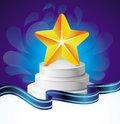 Vector  award concept Stock Image
