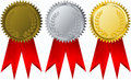 Vector  award ribbons Stock Image