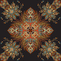 Vector aztec geometric seamless pattern. Background with a Latin American ornament Royalty Free Stock Photo