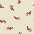 Vector background with birds seamless Royalty Free Stock Image
