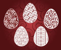 Vector background with eggs easter Royalty Free Stock Images