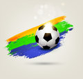 Vector background on the football theme Royalty Free Stock Photo
