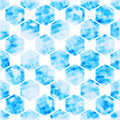 vector background geometric Hexagon abstract technology  illustration Royalty Free Stock Photo