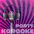 Vector background for karaoke party Royalty Free Stock Images
