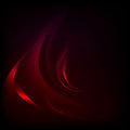 Vector background with red waves