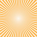 Vector background sun rays with white and orange color