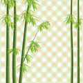 Vector bamboo tree Royalty Free Stock Image