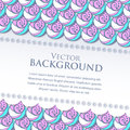 Vector banner with waves and place for your text this is file of eps format Royalty Free Stock Photography