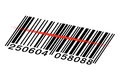 Vector barcode Royalty Free Stock Photos