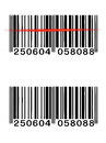 Vector barcode Stock Photo