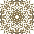 Vector baroque ornament in Victorian style. Ornate element for d