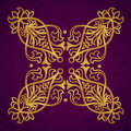 Vector baroque ornament in victorian style ornate element for design toolkit for designer it can be used for decorating of wedding Royalty Free Stock Image