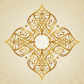 Vector baroque ornament in victorian style ornate element for design toolkit for designer it can be used for decorating of wedding Stock Photo