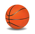 Vector basketball  leather Stock Image