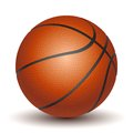 Vector basketball on a white background Stock Photography
