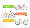 Vector Bike Option Banner