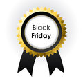 Vector Black Friday label Stock Image