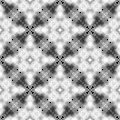 halftone black and white seamless pattern design