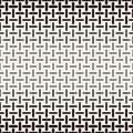 Vector Black and White Rounded Dash Lines Halftone Gradient Lattice Geometric Pattern Royalty Free Stock Photo