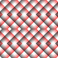 Vector Black and White Woven Background. British Plaid Ornament Royalty Free Stock Photo