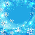 Vector blue christmas background Stock Photography