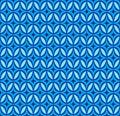 Vector blue geometric seamless pattern