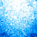 Vector blue ice background Royalty Free Stock Photo