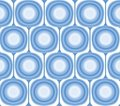 Vector Blue Retro Background Stock Photo