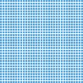 Vector blue square checkered background or texture Royalty Free Stock Photo