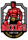 Boxing championship badge