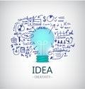 Vector Brainstorm Illustration...