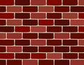 Vector brick wall Royalty Free Stock Photos