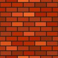 Vector Brick Wall Seamless Pattern