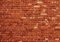 Vector brick wall texture illustration, brickwall pattern Royalty Free Stock Photo