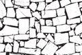 Vector Bricks and Stones Texture