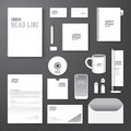 Vector brochure flyer magazine cover booklet poster design template layout blank business stationery annual report a size set of Stock Photography