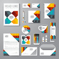 Vector brochure flyer magazine cover booklet poster design template layout business stationery annual report a size set of Stock Photo