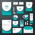 Vector brochure flyer magazine cover booklet poster design template layout business stationery annual report a size set of health Stock Photo