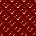 vector brown geometrical seamless texture