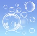 Vector bubbles Stock Images