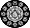 Vector Of Buddha Background
