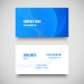 Vector business card set elements for design illustration Royalty Free Stock Images